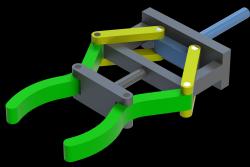 مدل سه بعدی گریپر ربات