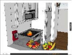 آشپزخانه با اسکچ آپ قسمت اول